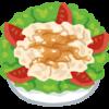 牛肉たたきのサラダ
